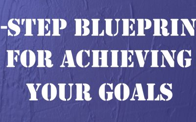 Four-Step Blueprint for Achieving Your Goals